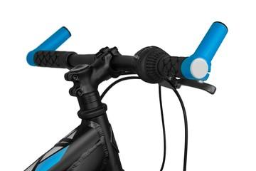 Closeup of a Bicycle Handlebars