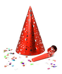 Pointed party hat
