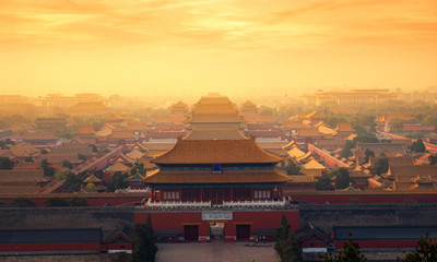 Photo sur Plexiglas Pekin The Forbidden Palace