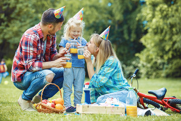 Birthday Party in the Park