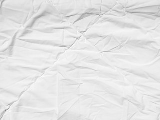 white fabric cloth bedsheet texture