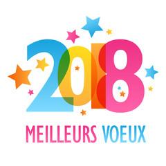 """BANNIERE """"Meilleurs Vœux 2018"""""""