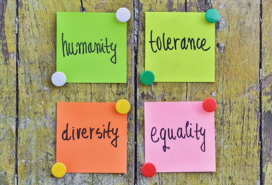 Humanity and tolerance