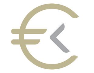 Money coin logo
