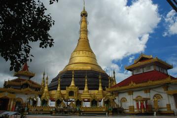 Pagode Kyaikthanlan, Mawlamyine, Birmanie