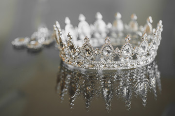 jewelry crown earrings
