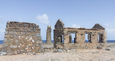 Abandoned lighthouse at Malmok, Bonaire (netherlands antilles)