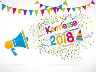 mégaphone : kermesse 2017