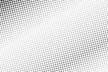 Abstract monochrome halftone pattern. Comic background. Dotted backdrop with circles, dots, point.
