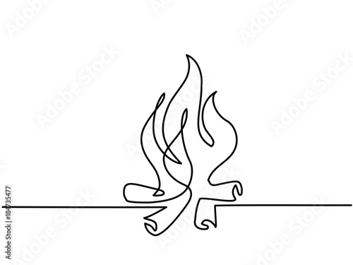 how to draw a background of fire
