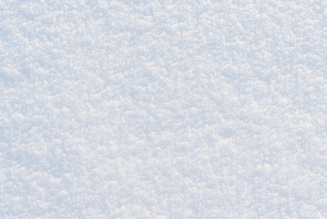 Winter white snow background