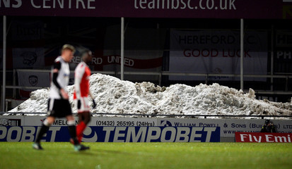 FA Cup Second Round Replay - Hereford FC vs Fleetwood Town