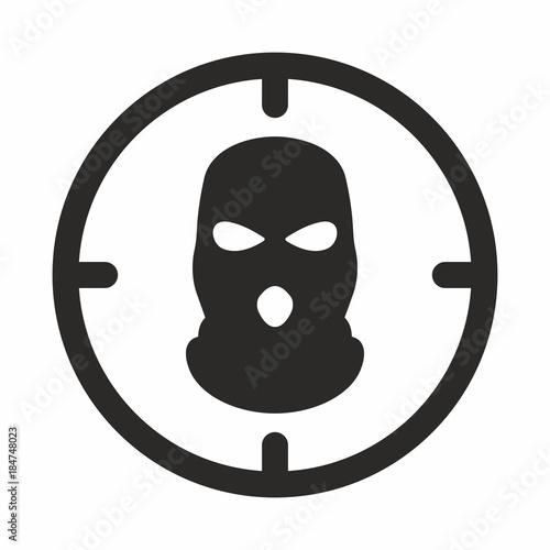 Bandit mask icon\