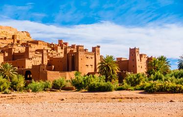 Canvas Prints Morocco Village Ksar Ait Benhaddou, Morocco