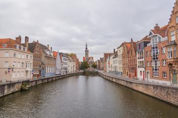 River in Bruges, Belgium