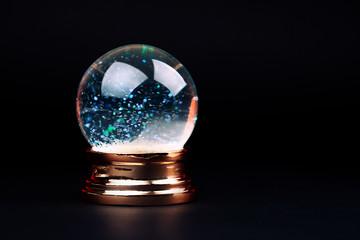 Beautiful snow ball