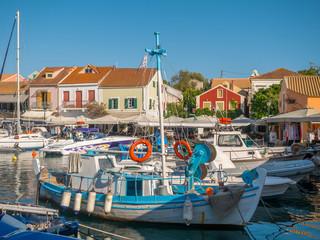 Fotobehang Mediterraans Europa Fiskardo village in Kefalonia, Greece