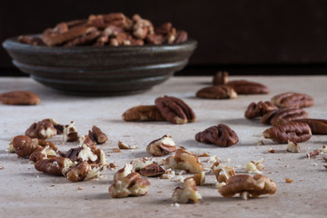 Coarsely Chopped Pecans