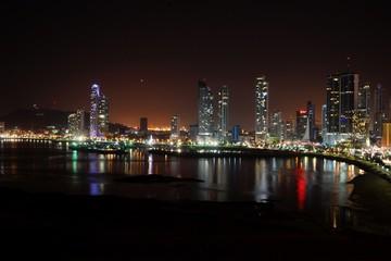 Night View of Panama City, Panama