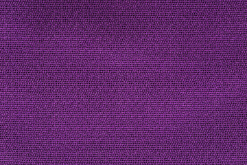 Close Up Background Pattern of purple Textile Texture, Abstract color textile net pattern texture.