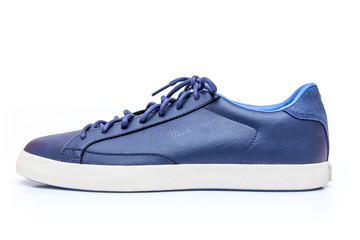 Blue and White Unisex Shoe - Sneakers