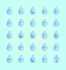 Droplet Smileys