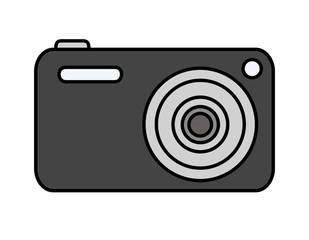 デジタルカメラ(黒)