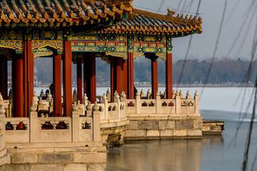 Peking, China, Beihai Park
