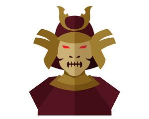 Modern Scary Halloween Flat Avatar Character Illustration