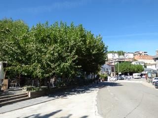 Riomalo de Abajo. Pueblo de Las Hurdes, en la provincia de Cáceres, Comunidad Autónoma de Extremadura (España)