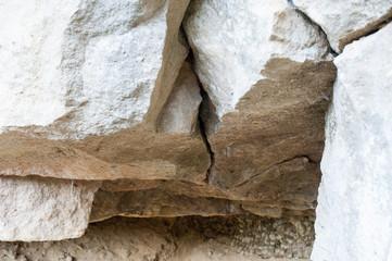 Felsen und Steine
