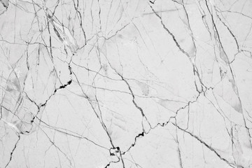 Wall Mural - Abstract natural marble black and white, black marble patterned texture background