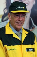 Brazil's state-run oil company Petroleo Brasileiro SA Chief Executive Officer Pedro Parente attends the company's IPO at B3 in Sao Paulo