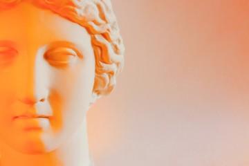 голова греческой богини муза