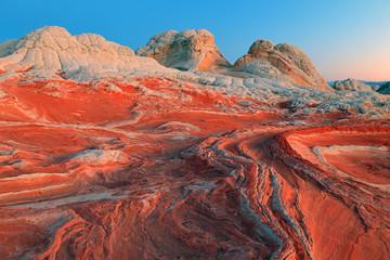 Wall Mural - Unique desert geology, Arizona, USA.