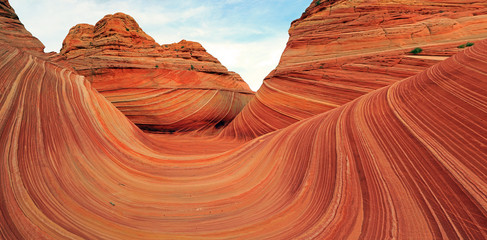 Zelfklevend Fotobehang Arizona The Wave in the Arizona desert, USA.