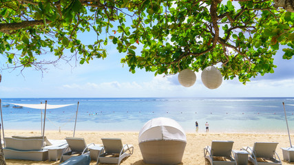 バリ ヌサドゥアビーチ 楽園 BALI Nusa Dua Beach  Paradise