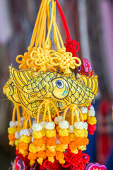 chinese amulet carp for rich chinese new year