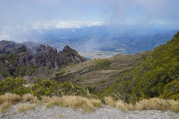 A view from the top of Volcan Baru, Panama