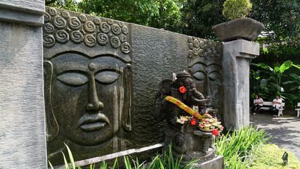 バリ ガネーシャ ガナ神像 BALI Bhatara Gana elephant