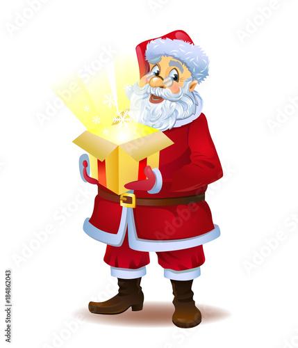 A christmas miracle santas gift