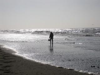 Nordseestrand bei Katwijk aan Zee