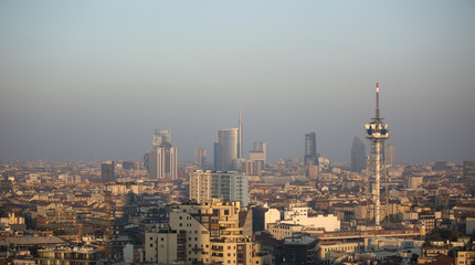 Milano nello smog