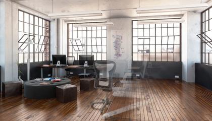 Postindustrial Office Design (concept)