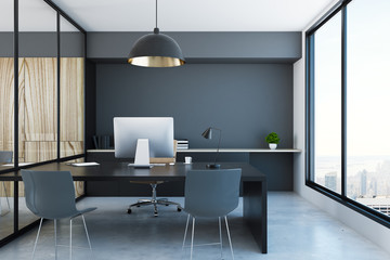 Wall Mural - Stylish office interior