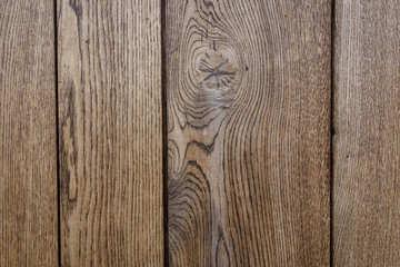 close up from wall wooden panels brown background detail