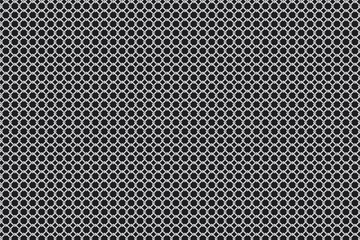 Perforated iron background texture. Vector illustration
