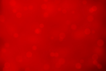 Red Abstract Shiny Christmas Lights Background