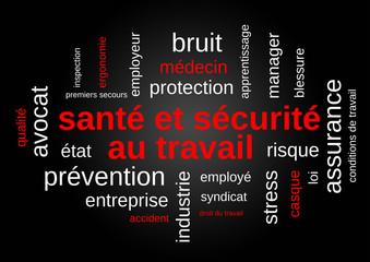 santé et sécurité au travail (protection, prévention)