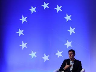 "Ciudadanos's leader Albert Rivera speaks during a ""Ciutadans"" meeting in Barcelona"